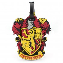 Harry Potter Rubber Luggage Tag Gryffindor New Ver.