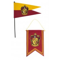 Harry Potter Banner & Pennant Set Gryffindor
