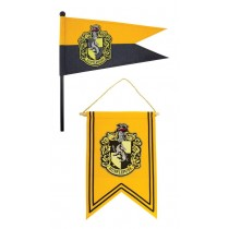 Harry Potter Banner & Pennant Set Hufflepuff