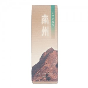 Shoyeido - Incense Road - Nanshu - Southern State - 20 Incense Sticks
