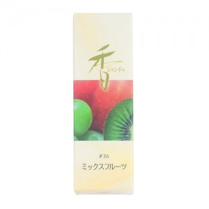Shoyeido - Xiang Do - Mixed Fruits - 20 Incense Sticks