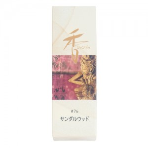 Shoyeido - Xiang Do - Sandalwood - 20 Incense Sticks
