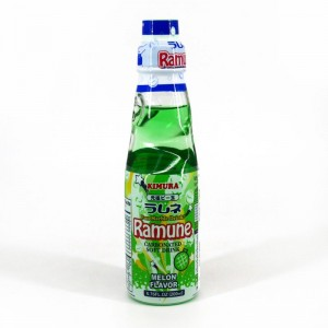 Ramune Pop Drink Melon Flavour 200ml