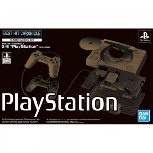 BEST HIT CHRONICLE 2/5 PLAYSTATION (SCPH-1000) - PLASTIC MODEL KIT