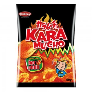 Kara Mucho Spicy & Tasty Hot Chilli Flat Potato Crisps