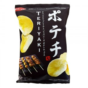 Koikeya Potechi Japanese Potato Chips - Teriyaki Flavour 100g