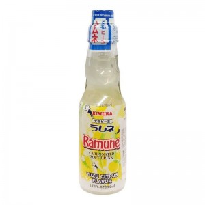 Ramune Pop Drink Yuzu Citrus Flavour 200ml