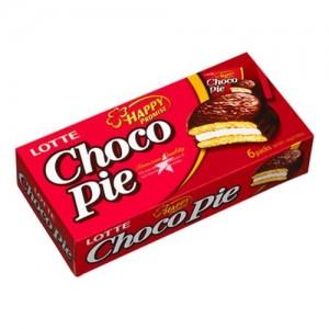 Lotte Choco Pie 6 Pieces (28g) 168g