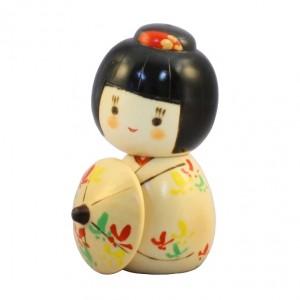 Kokeshi Doll - Hanagasa