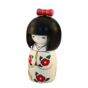Kokeshi Doll - Ribbon