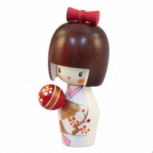 Kokeshi Doll - Temari
