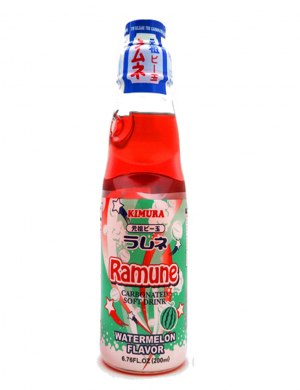Ramune Pop Drink Watermelon Flavour 200ml