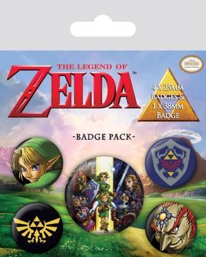 Badge Pack - The Legend Of Zelda