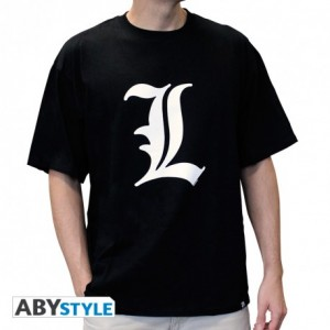 "T-SHIRT DEATH NOTE - ""L tribute"" Small"
