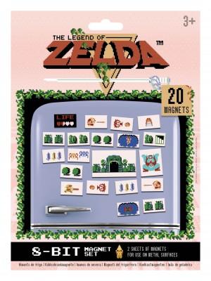 The Legend of Zelda (Retro) Magnet Set