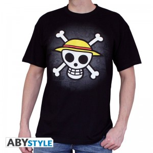 "T-SHIRT ONE PIECE ""Skull with map"" Small"
