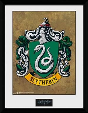 Harry Potter Collector Framed Print Slytherin