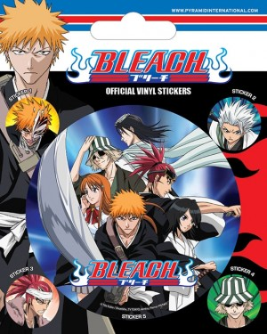 Bleach - Vinyl Sticker Pack - Attack
