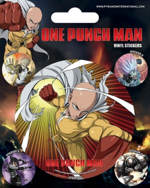 One-Punch Man - Vinyl Sticker Pack - Atomic Fist