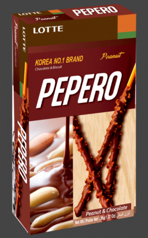 Pepero Peanut & Chocolate