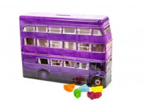 Harry Potter Knit Bus Money Tin