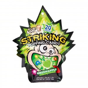 Striking Popping Candy Green Apple