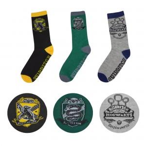 Harry Potter Socks 3-Pack Quidditch Hogwarts