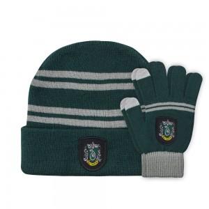 Harry Potter Beanie & Gloves Set for Kids Slytherin